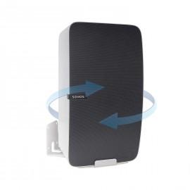 Vebos uchwyt ścienny Sonos Play 5 gen 2 obrotowy biały - pionowy